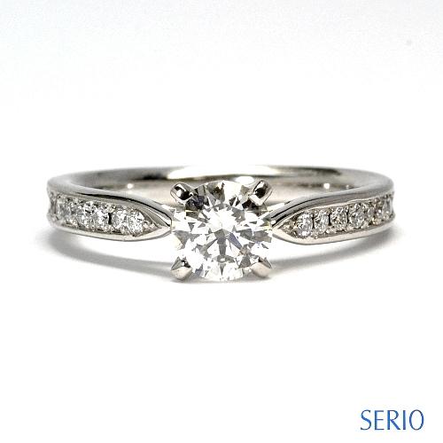 ダイヤ・エンゲージリング製作 婚約指輪 NO.33