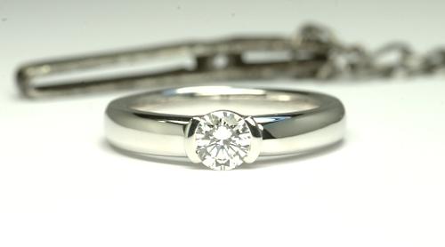 ダイヤのペンダントを婚約指輪へリフォーム