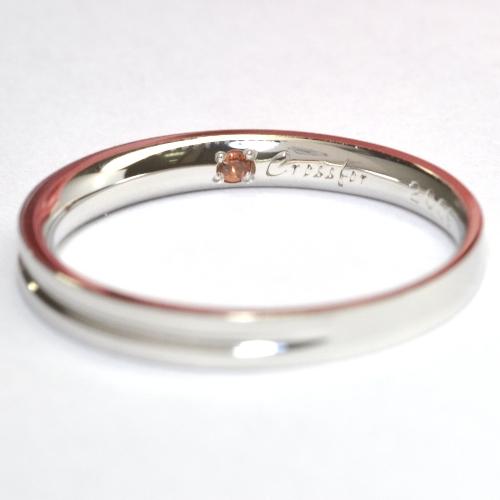 クロスフォー・結婚指輪(マリッジリング)
