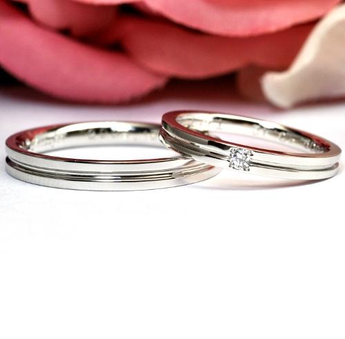 クロスフォー・結婚指輪(マリッジリング) 結婚指輪NO.11
