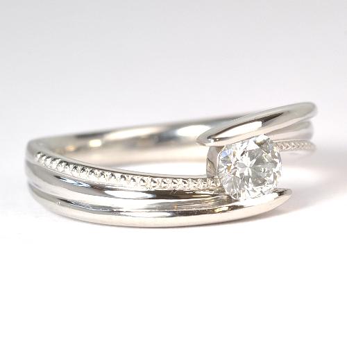 ペンダントを婚約指輪へリフォーム