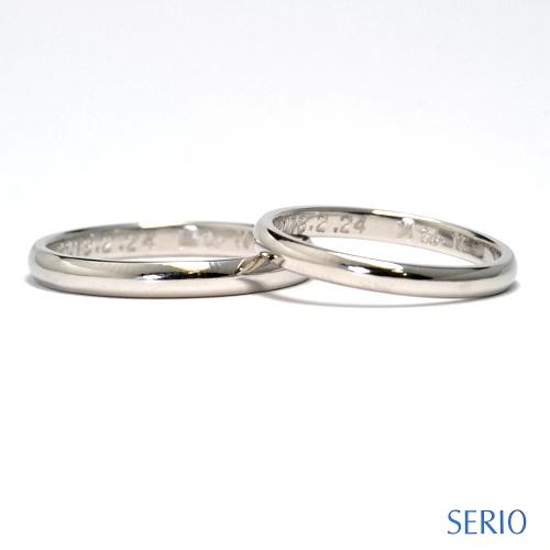 結婚指輪マリッジリングオーダーメイド鍛造製作