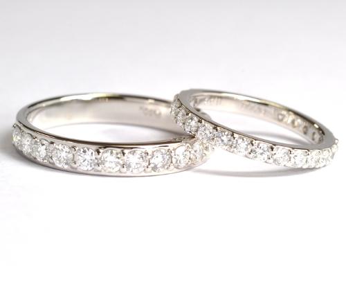結婚指輪マリッジリングオーダーメイドエタニティリング